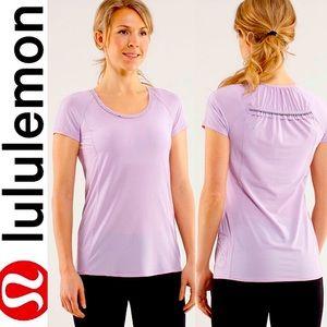 Lululemon Run Wild Short Sleeve Tech Ruffle Top 8